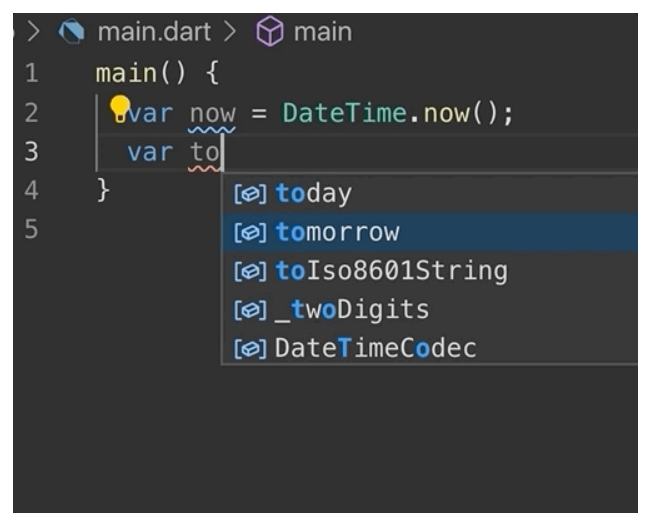 Dart 2.5: This is new